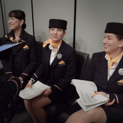 Flugbegleiter in Doku von Rolin Media