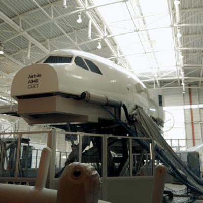 Lufthansa Simulator Dokudreh