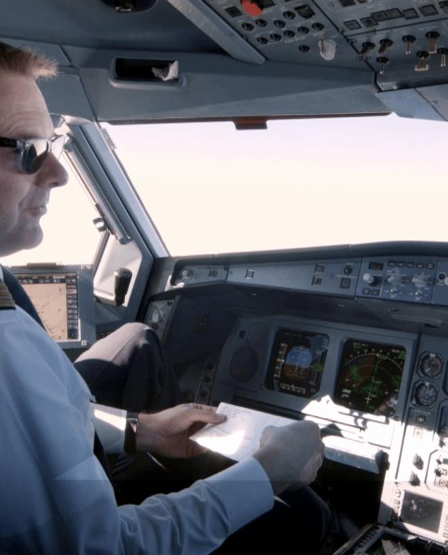 Filmproduktion Cockpit
