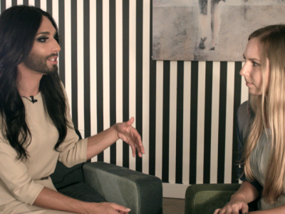 Conchita Wurst Interview Rolin Media