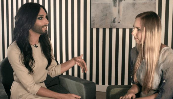 Conchita Wurst Interview Rolin Media